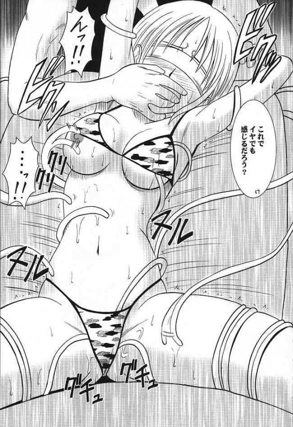 【エロ漫画 ワンピース】ナミが家に帰ってくるとノジコに媚薬飲まされちゃって双頭バイブでレズプレイやっちゃってる!【クリムゾン エロ同人誌】(56)