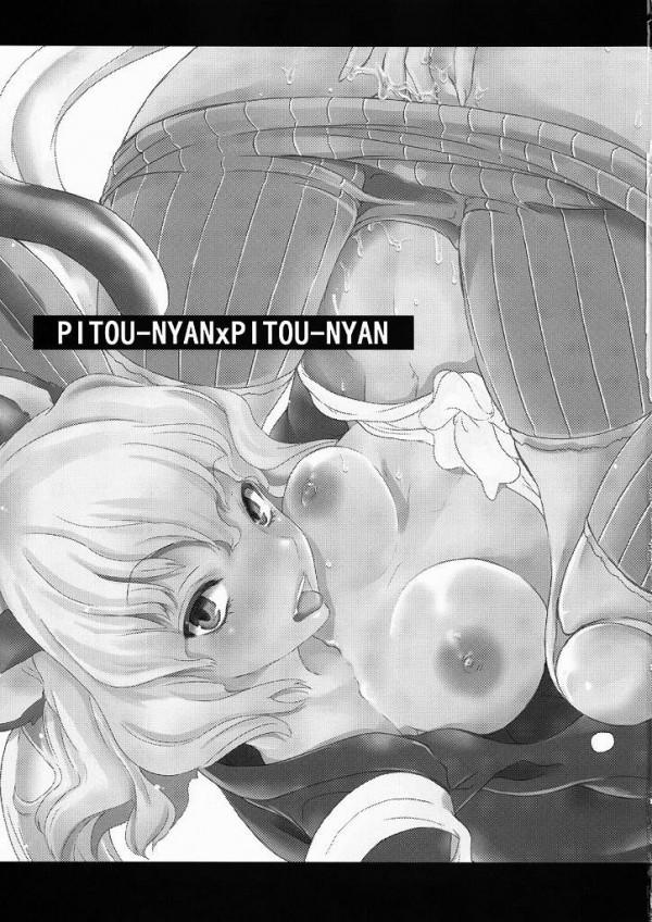 ピトーが能力を使って人間遊具作っちゃうwチンポで自慰してたら能力解除出来なくなって精子で膣をパンパンにされちゃうにゃww【ハンターハンター エロ漫画・エロ同人誌】 (2)