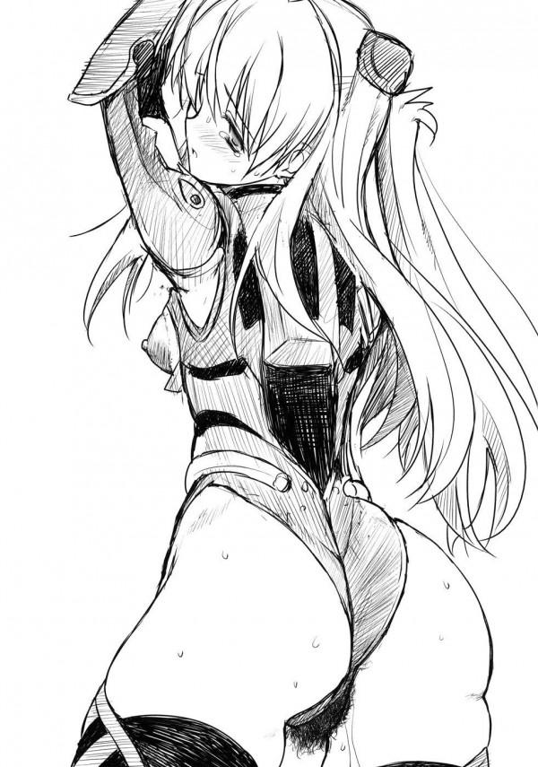 アスカが同級生に切れられて輪姦されちゃってる!鬼畜な男達から首絞めセックス異物挿入までされちゃって肉奴隷になってるWWW【新世紀エヴァンゲリオン エロ漫画・同人誌】 (40)