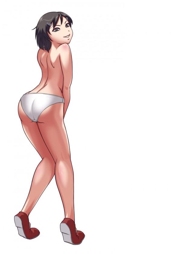 【エロ漫画】貧乳ロリータ痴女の少女がスクール水着やエッチな格好でクンニさせてる【無料 エロ同人】_073