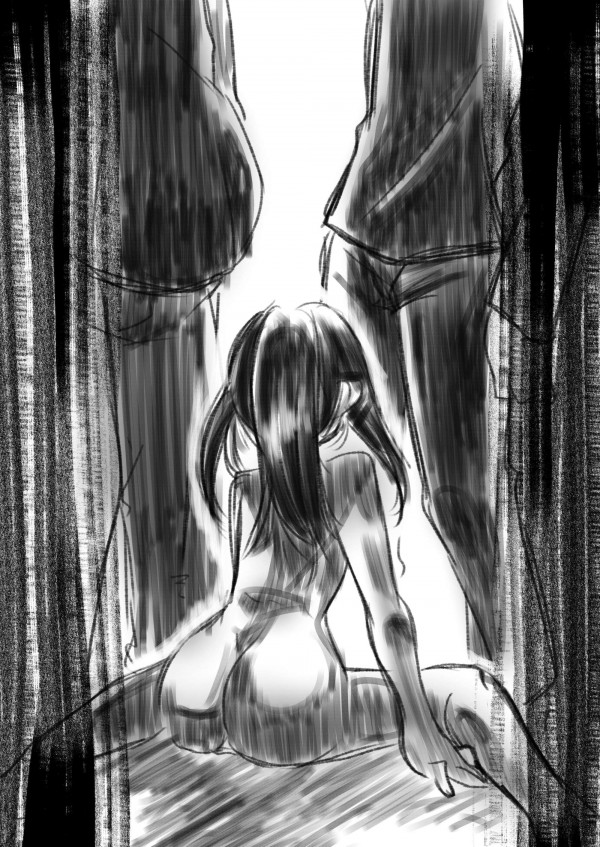 【エロ同人誌・エロ漫画】男が妄想したとおりにロリータ少女が男子トイレでオナってイクの止まらなくなって輪姦レイプ陵辱されてるぞww 20