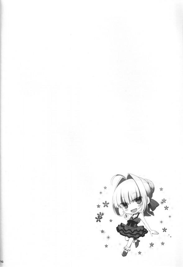 【Fate/EXTRA エロ漫画・エロ同人】タマモやセイバー、サンタコスの清姫らのおっぱい祭りww濃厚パイズリで次々ぶっかけ顔射www 15