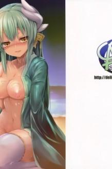 【FGO エロ漫画・エロ同人】水着姿の清姫がマスターとセックスして絶頂wwラブラブエッチしちゃってるよ~www
