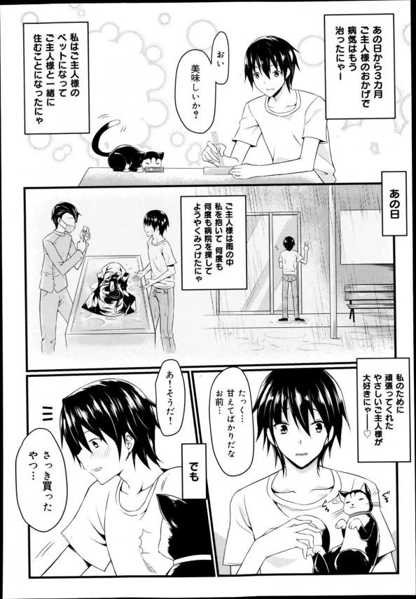 拾ってきた黒猫を飼うことにしたが、人間の女の子になっていて交尾を求めてきた!?!? (4)