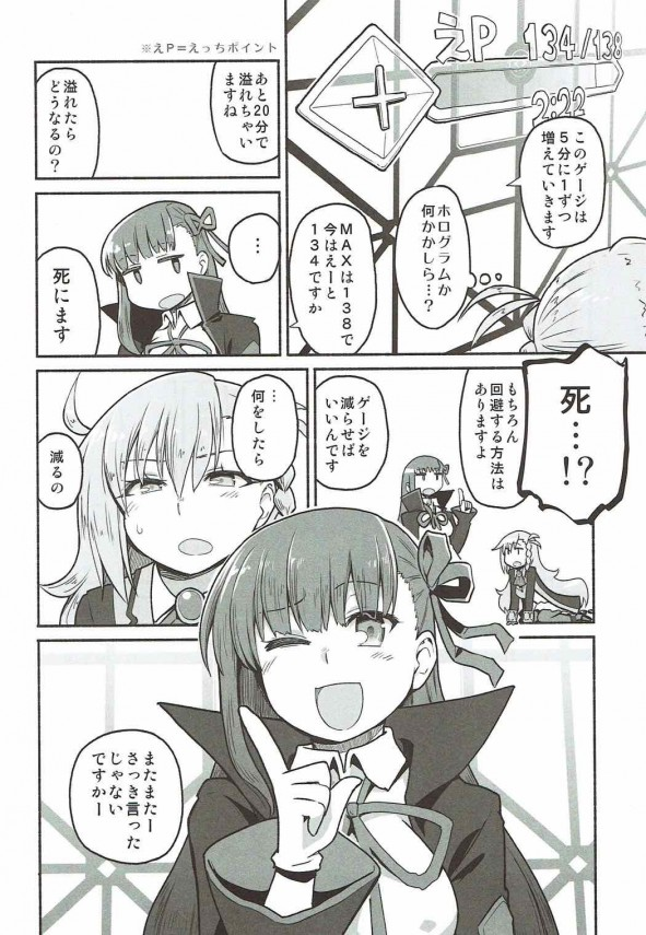 【FGO エロ漫画・エロ同人】オルガマリーが鬼イキ耐久ゲーで脱出を目指すwww (5)