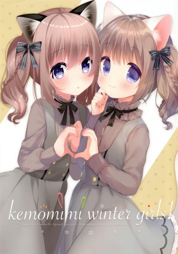 Kemomimi winter girls! (1)