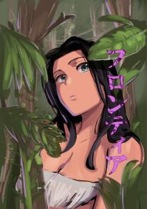 【エロ漫画】地下アイドルが人生初の海外ロケで船から転落して遭難ww目が覚めると褐色のお姉さんに出会い、色んな体験をしていくちょっぴり感動的な非エロストーリー!!