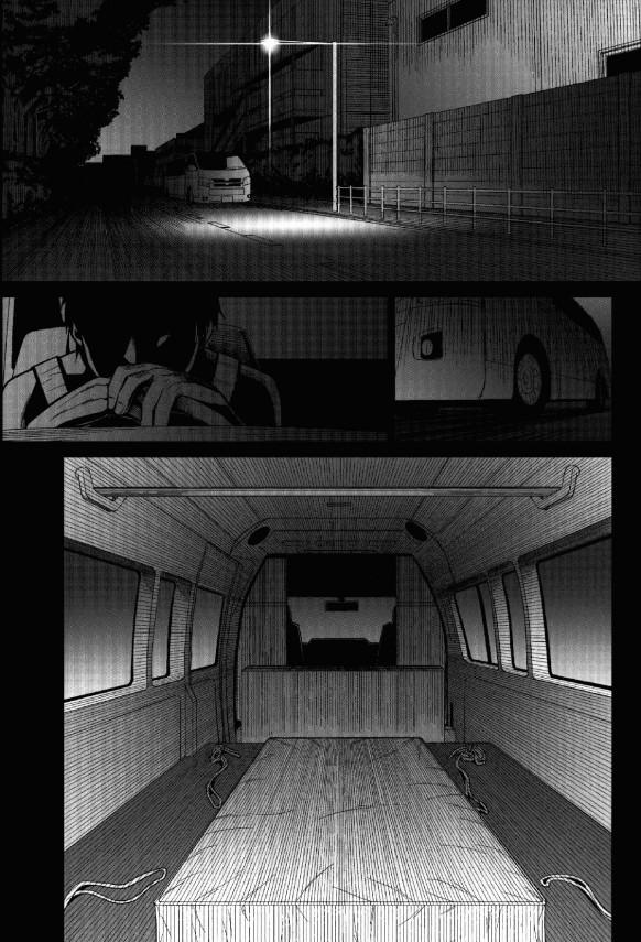【エロ漫画・エロ同人】近道をして帰ったJSだったが車に連れ込まれると見知らぬ男に拘束されてレイプされる!!!! (2)