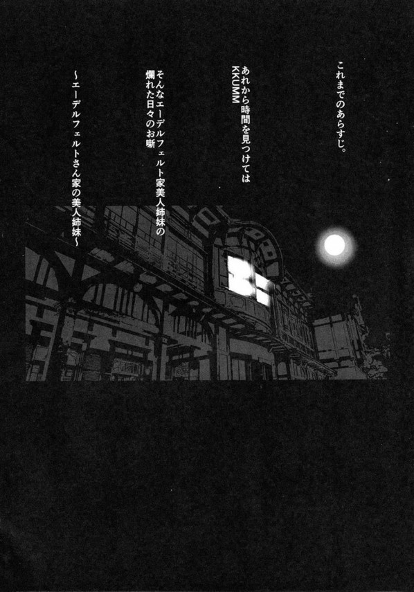 【Fate/kaleid liner プリズマ☆イリヤ エロ漫画・エロ同人】美遊とルヴィアの二人は夜になるとふたなりセックスで互いに精液でマーキングするwww (3)