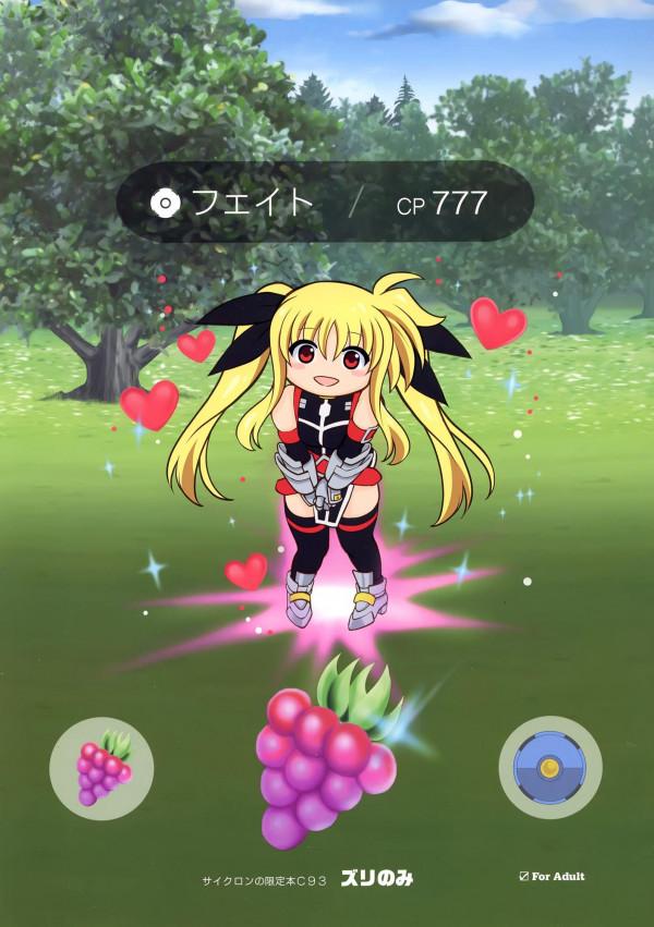 ズリのみ (魔法少女リリカルなのは) (1)
