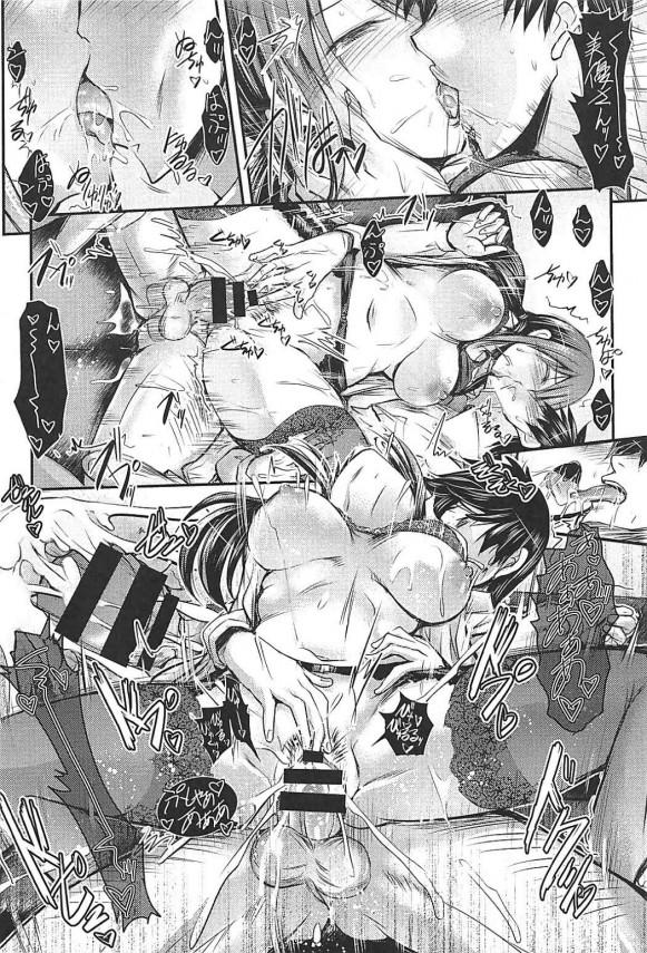 酔った三船さんと絶倫プロデューサーが他のアイドルに部屋を覗かれながら何度も生ハメセックスしてるぞwwwww【デレマス エロ漫画・エロ同人】 (17)