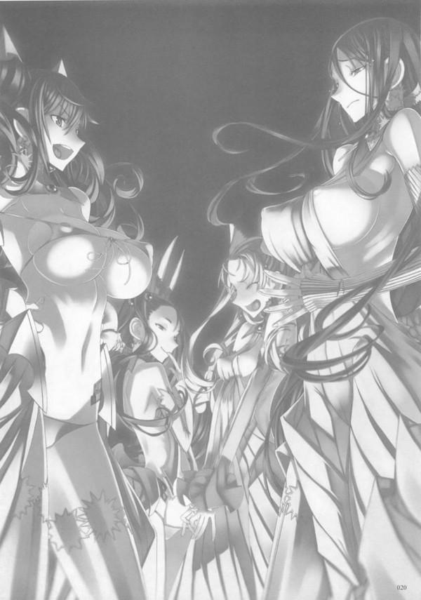 【エロ漫画・エロ同人】絶倫少年が巨乳や貧乳のエッチな魔法少女たちと何度も生ハメセックスしまくる総集編☆ (19)