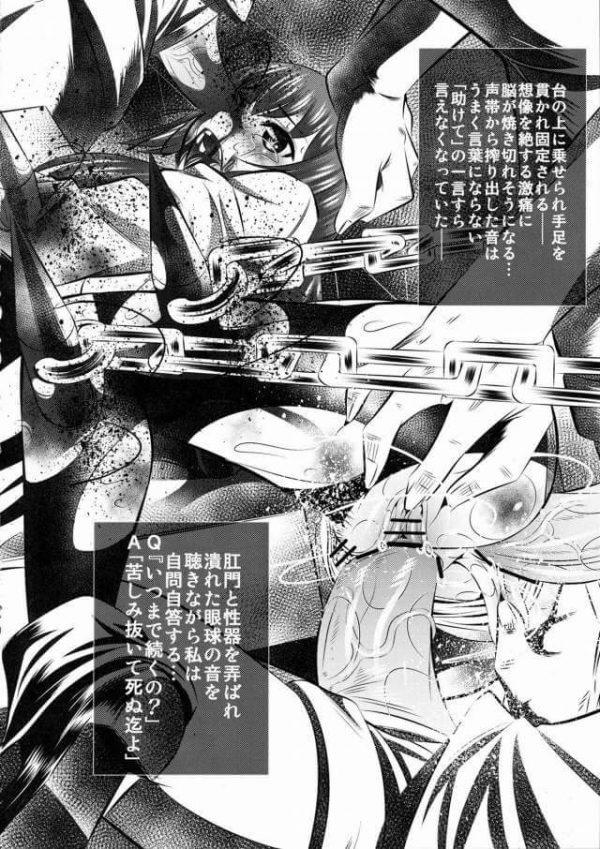 【エロ同人誌 シュタインズゲート】四肢切断されてリョナになってエログロな悪夢はまだまだ続く…!!【有害図書企画 エロ漫画】 (19)