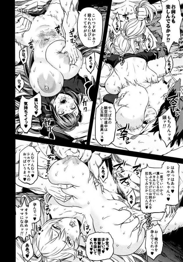 【エロ同人 グラブル】ヴィーラ・リーリエ、シルヴァたちが催眠状態で雌豚扱いされて快楽堕ちしていくww【無料 エロ漫画】 (25)