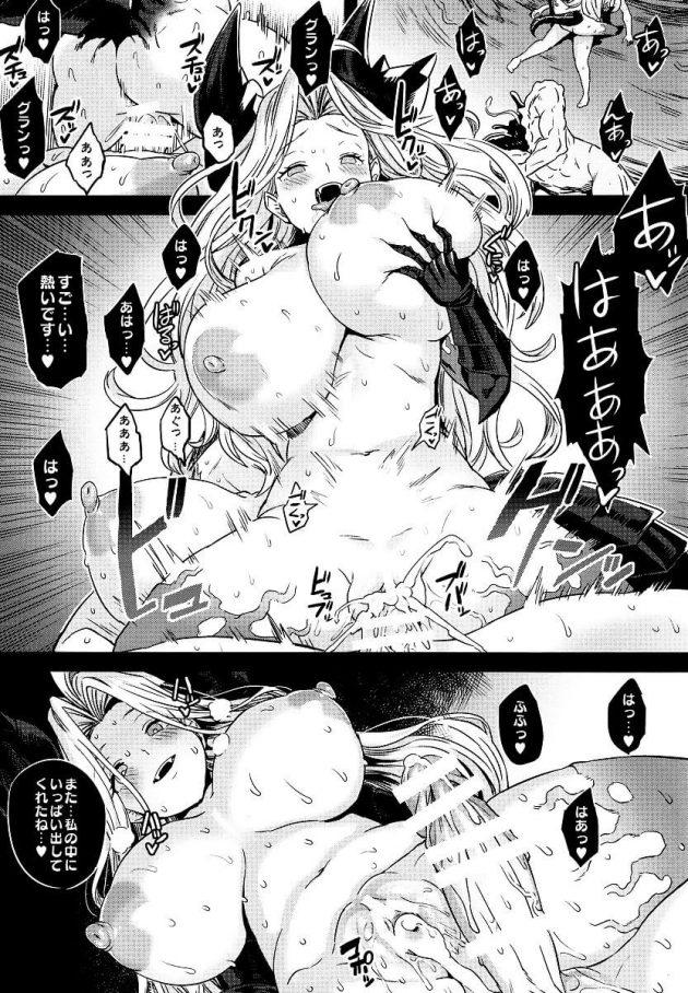 【エロ同人 グラブル】ヴィーラ・リーリエ、シルヴァたちが催眠状態で雌豚扱いされて快楽堕ちしていくww【無料 エロ漫画】 (2)