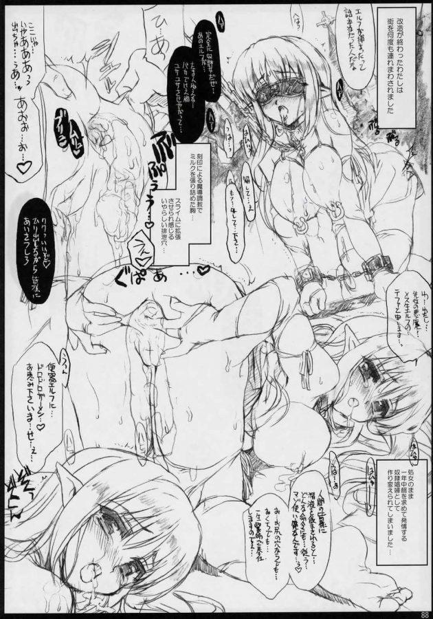 【エロ同人 ゼロの使い魔】貧乳美少女のルイズが平賀才人とセックスしたり巨乳エルフのティファニアが肉便器にされてるよw【無料 エロ漫画】 (32)