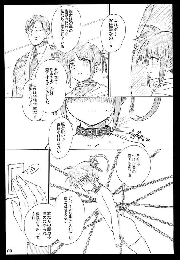【エロ同人 リリなの】マンコとアナル2穴同時ファックに飲尿プレイで肉便器にしちゃうwww【無料 エロ漫画】 (9)